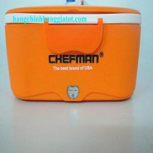 Bữa ăn ngon lành với hộp hâm nóng cơm Chefman