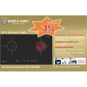 Bếp hồng ngoại đôi Korea King KIC – 4500RH